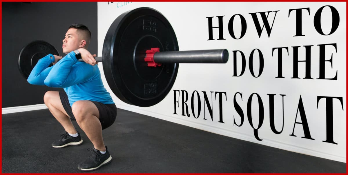 How to do the front squat