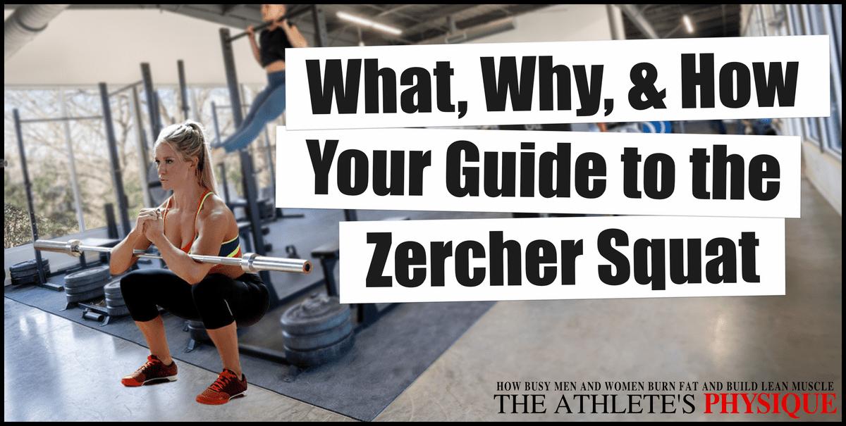 How to do the Zercher squat